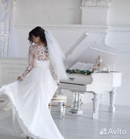 Свадебное платье Ulana, А-Силуэт 89524482466 купить 5