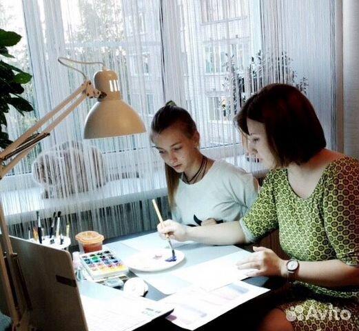 Уроки рисования для детей от 5 лет. Индивидуальные