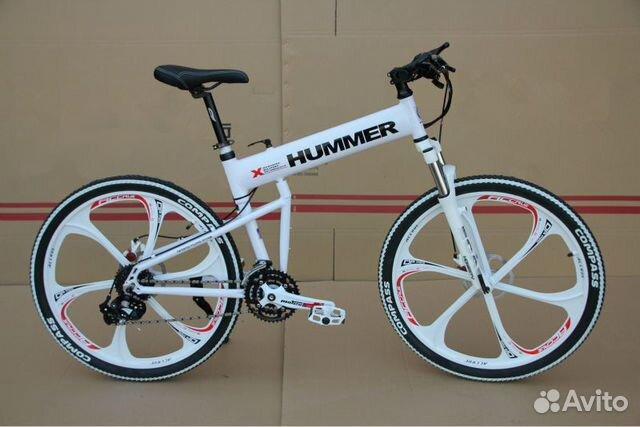 89527559801 Велосипед Хаммер складной