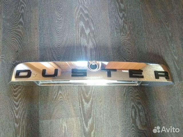 89657347629  Накладка крышки багажника (Renault Duster)