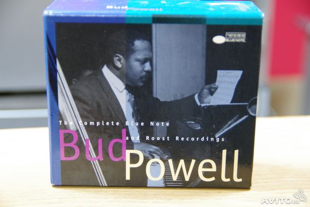 Bud Powell Blue Note recordings 4 CD box— фотография №1