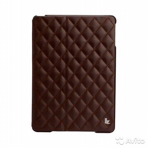 Чехол для iPad Air Jison Case Quilted Case Brown— фотография №1