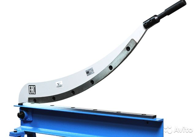 Гильотина ручная сабельного типа HS-800 Blacksmith купить 2