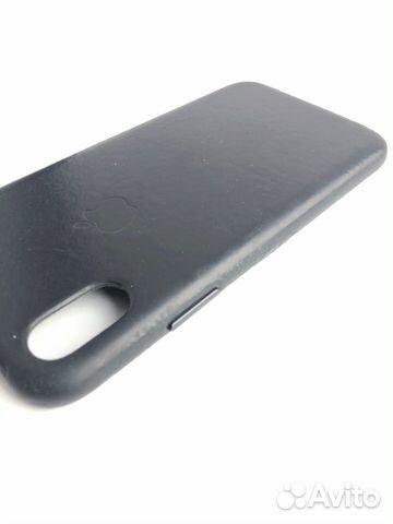 Кожаный чехол для iPhone X, Black. Оригинал 89226777659 купить 5