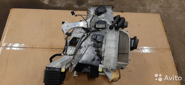 Отопитель в сборе (печка) Opel Vectra C