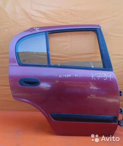84732022776  Дверь задняя правая Nissan Almera N16E 2000-2006