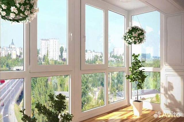 Остекление балкона 3.25 м алюминием 89339320302 купить 1