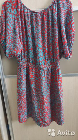 Платье (натуральный шелк) Perfetta  89139687644 купить 1