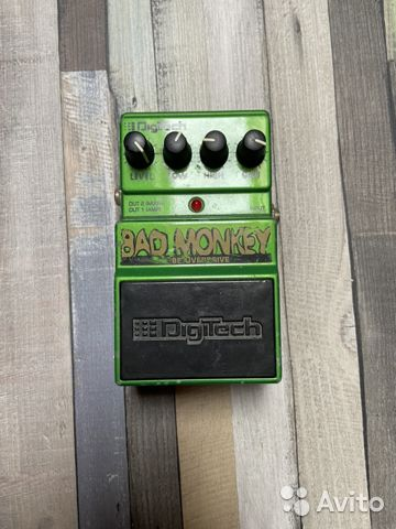 Педаль драйв Digitech Bad Monkey  89221566025 купить 1