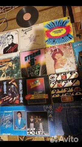 Большая Коллекция виниловых пластинок (более 1000) 89107618872 купить 2