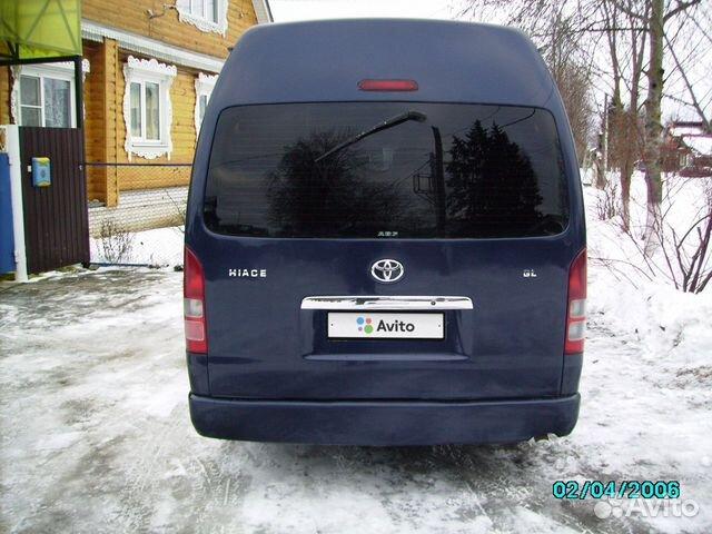 Toyota Hiace, 2006  89190047664 купить 2