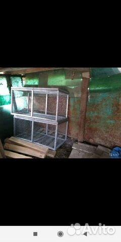 Клетки для содержания кроликов птиц и цыплят 89898713107 купить 8