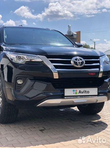 Toyota Fortuner, 2018  89584890216 купить 6