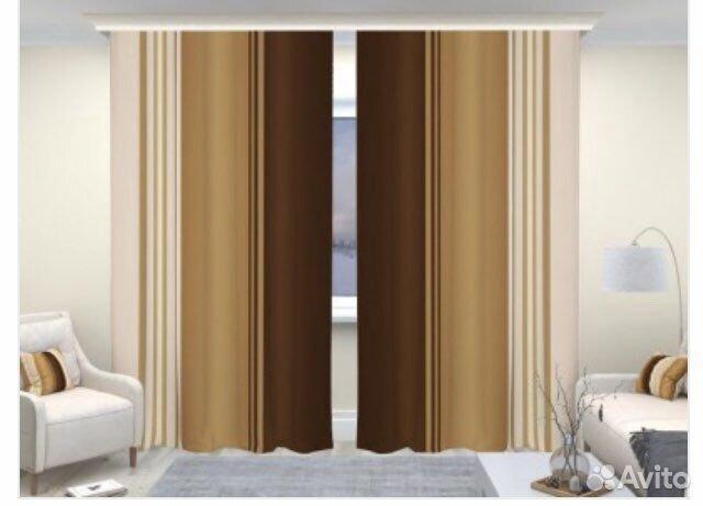 Комплект шторы и тюль  89643533474 купить 2
