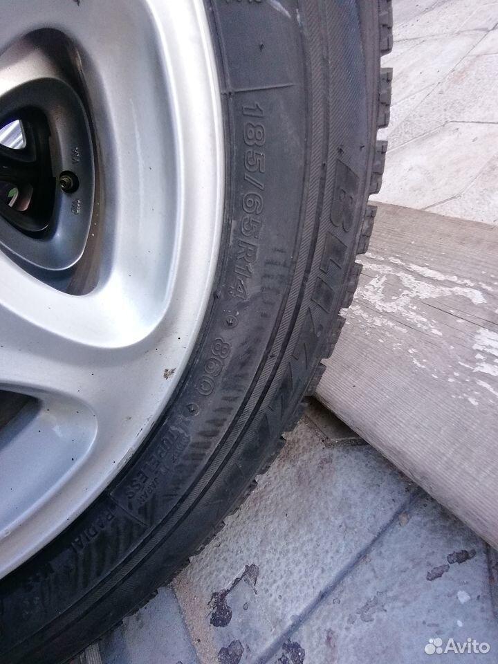 Комплект шин 185 /65/14 4шт Bridgestone Blizzak VR