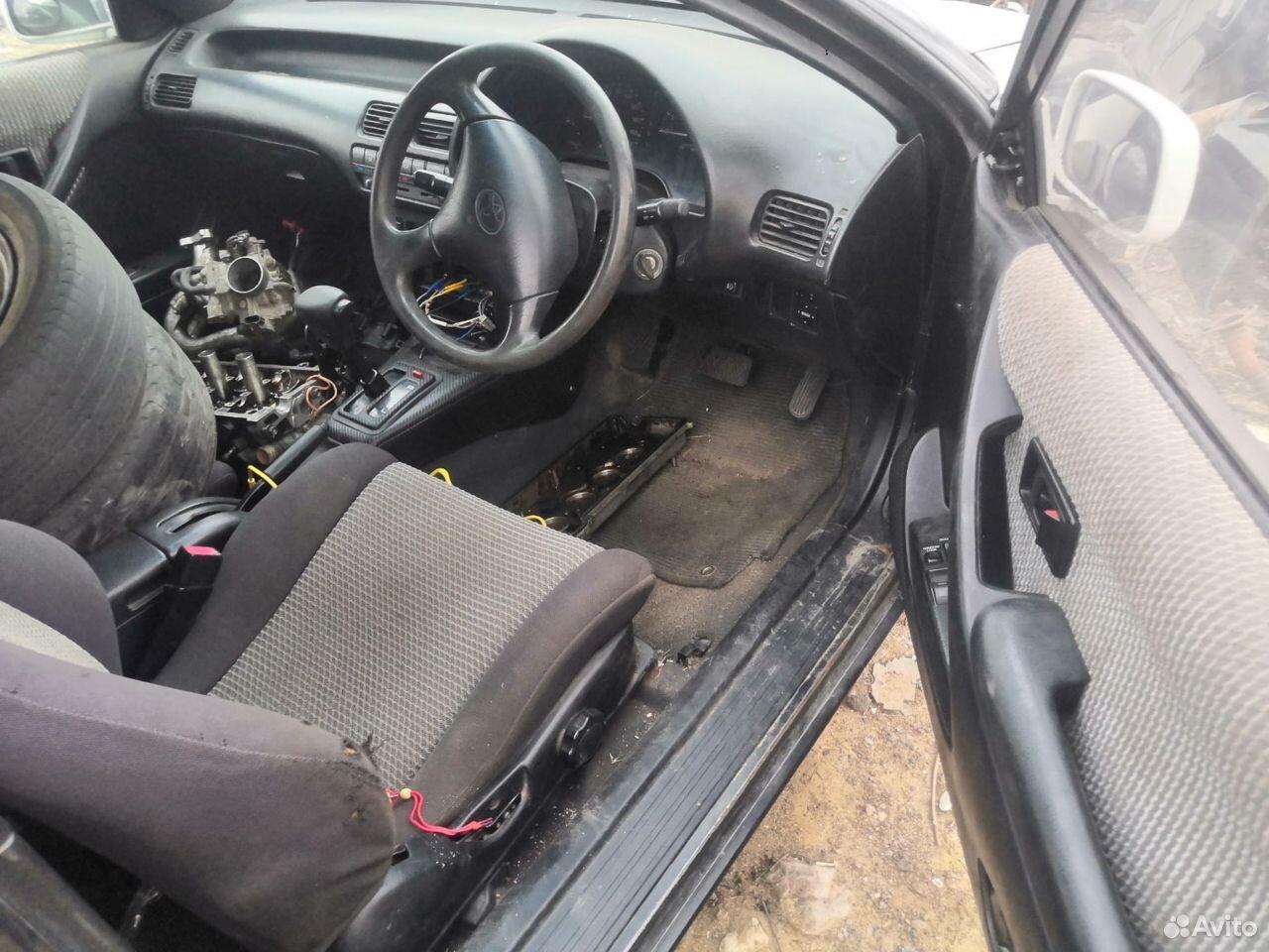 Toyota cynos 5e в разб
