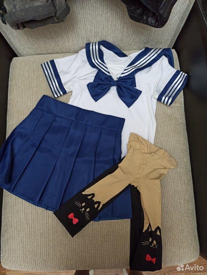 Японская форма, косплей, аниме, костюм  89876621923 купить 1
