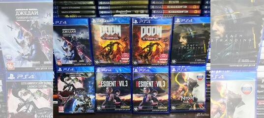 Продажа/Обмен игр PlayStation 4/3 VR