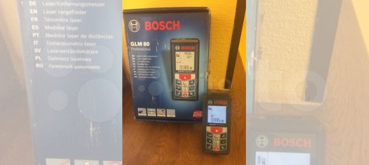 Bosch Entfernungsmesser Glm 80 : Лазерный дальномер уклономер bosch glm 80 купить в Курганской