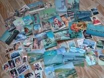 Календарики СССР открытки СССР наклейки от 1973
