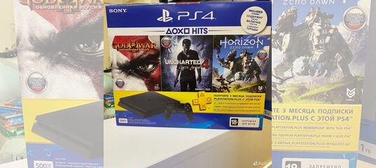Playstation 4 Slim 500Gb + гарантия купить в Новосибирской области с доставкой   Бытовая электроника   Авито