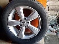 Шины с литыми фирменными дисками Nissan X-Trail