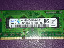 Оперативная память SAMSUNG DDR3 для ноутбука 1 GB