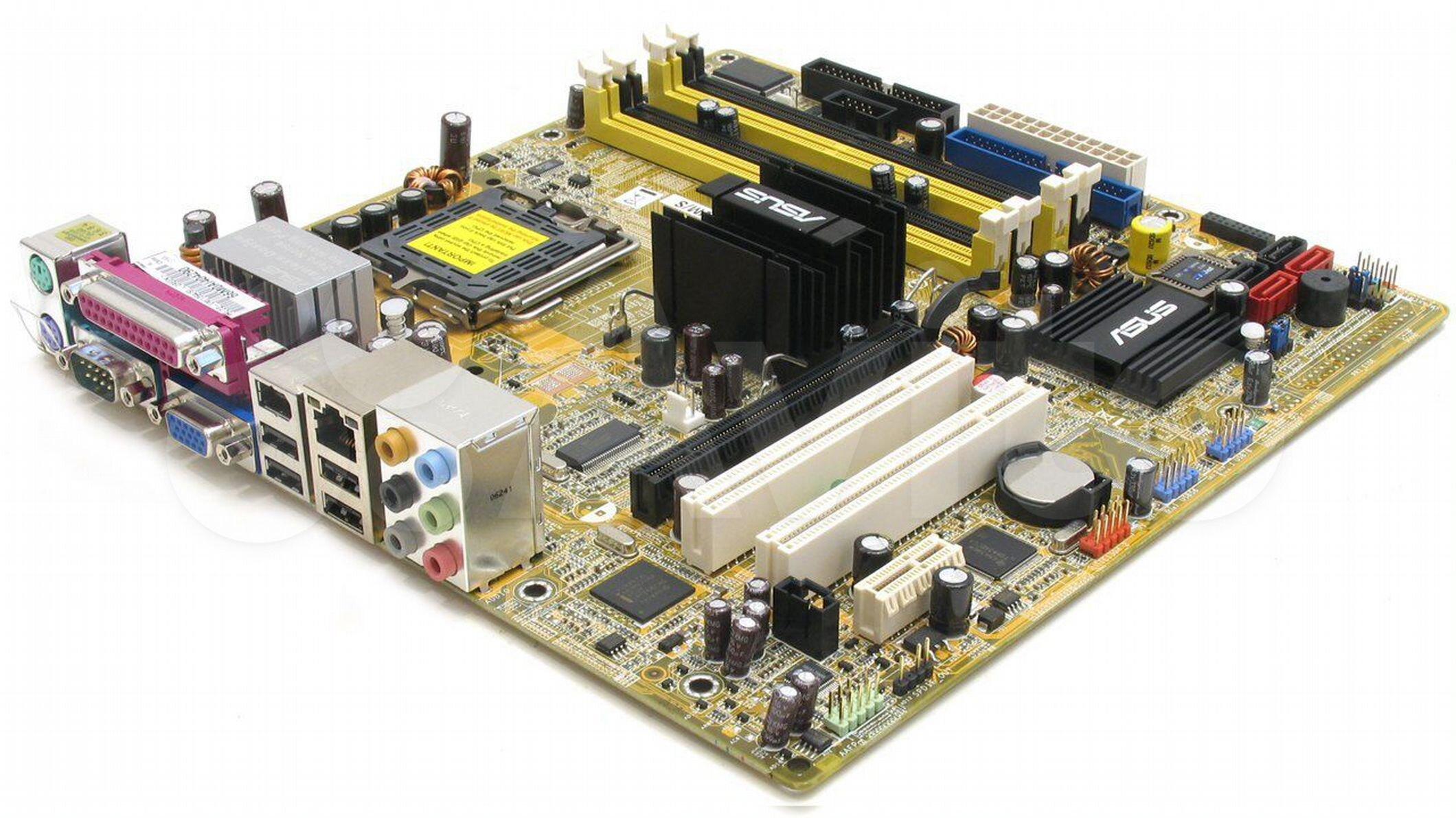 Материнская плата Asus P5LD2-VM/S S775 купить в Республике Удмуртия с доставкой | Бытовая электроника | Авито