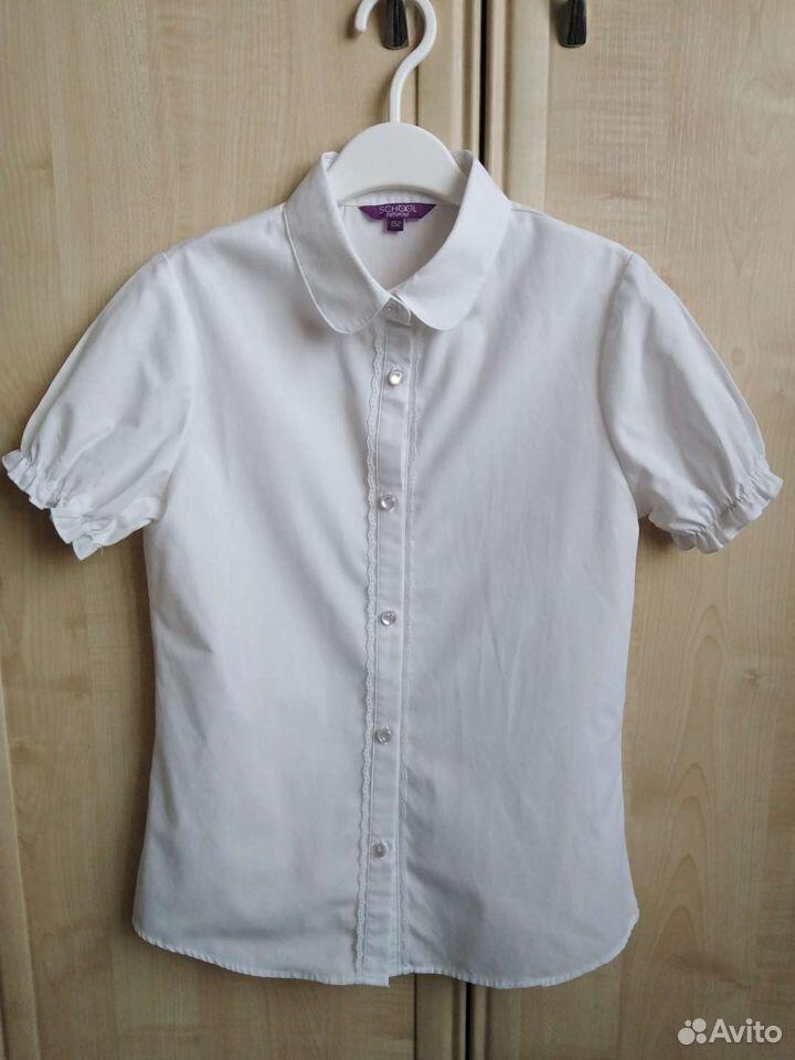 Блузка школьная для девочки  89235930773 купить 1