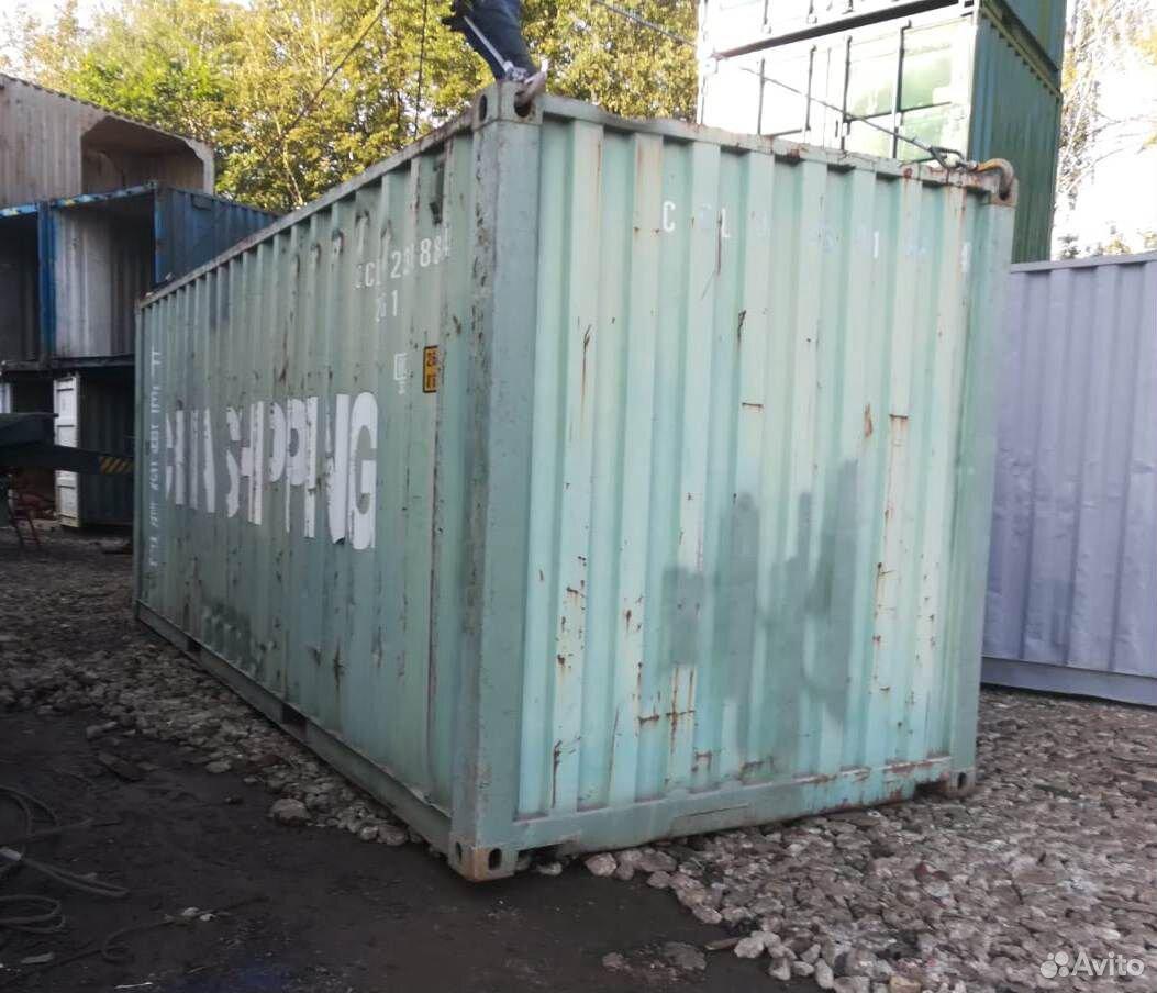 Морской контейнер 20 футов бу в Ульяновске  88002001752 купить 1