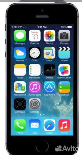 Apple iPhone 5S 16GB  89187375499 купить 1