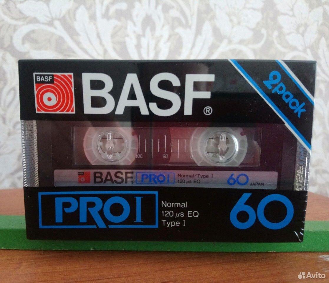 Аудиокассеты basf PRO I 60 (2pack)  89147250335 купить 1