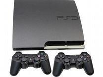 Sony PlayStation 3 Slim прошитая 500gb