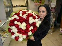 Доставка цветов, розы на дом