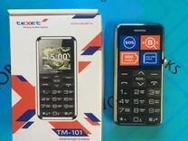 Телефон texet TM-101Black (Новый)