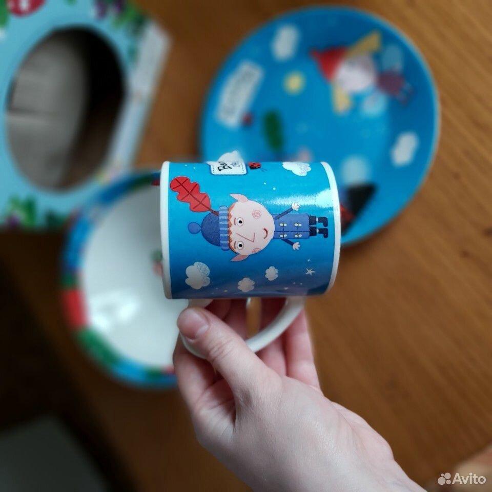 Набор детской посуды (3 предмета)  89173191130 купить 4