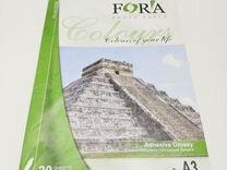 Самоклеящаяся глянцевая 120 гр А3 20 листов Fora