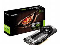 Видеокарта gigabyte GeForce GTX 1070 8 Gb