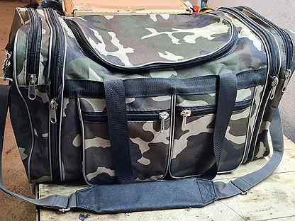 Тревожная сумка и несессер в сборе