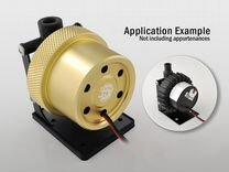 Bitspower D5/MCP655 Mod Kit, Abrasive Golden