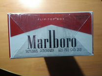 Коллекционный блок сигареты Мальборо ретродизайн