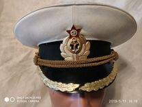 Фуражка В.М.Ф. Офицерская парадная СССР