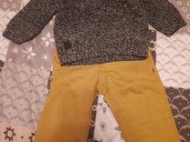 Свитер+брюки 9-12м