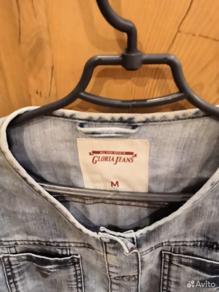 Пиджак джинсовый для девочки, р. м (46)  89103122186 купить 2