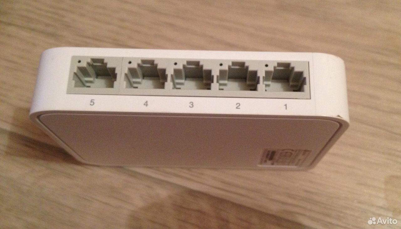 Коммутатор 5 портов, TP-Link 10/100 Mbit  89677411205 купить 2