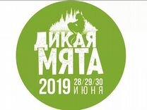 Билет на фестиваль Дикая мята на 3 дня