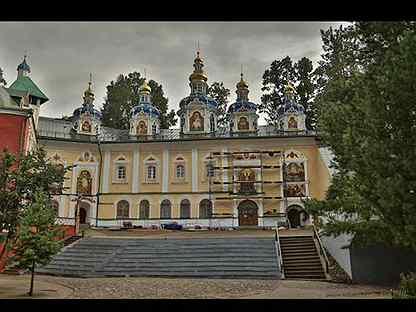 Поездки в Псково-Печерский монастырь