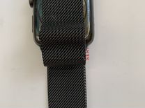 Apple Watch S3 42 stainless steel milanese loop
