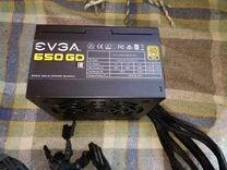 Почти новый Блок питания evga GD 650W gold