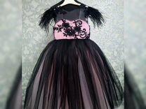 Шикарное платье для девочки 116-122 см
